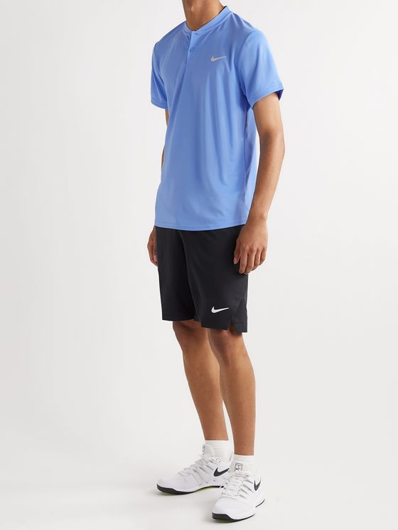 Nike Tennis NikeCourt Dri-FIT Henley Tennis T-shirt