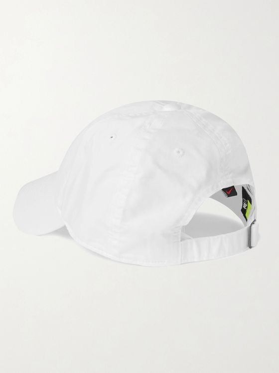 Nike Tennis Court Heritage 86 Logo-Embroidered Cotton-Blend Twill Tennis Cap