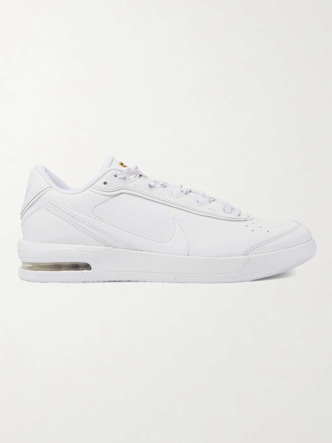 Nike Court Air Max Vapor Wing Premium Men's Tennis Shoe (white) - Clearance Sale In White,binary Blue,university Red,white