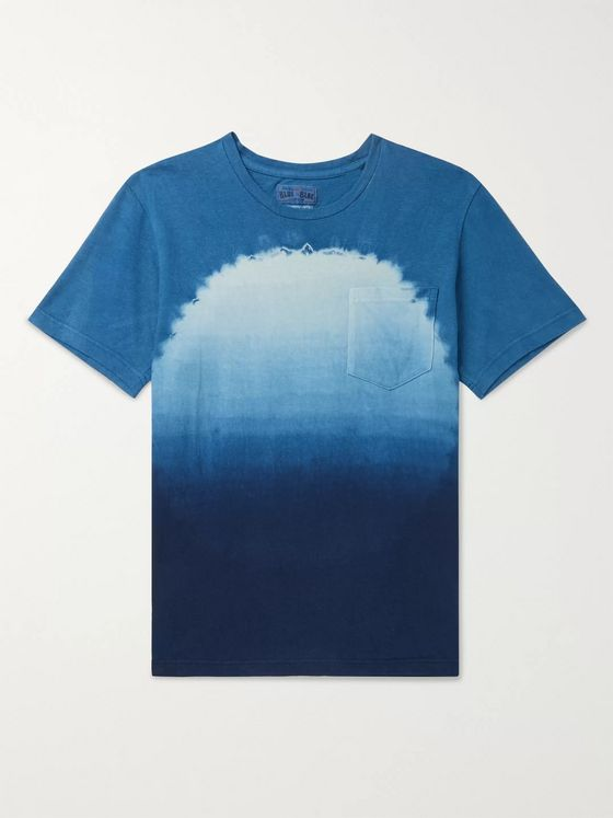 Blue Blue Japan Tie-Dyed Cotton-Jersey T-Shirt