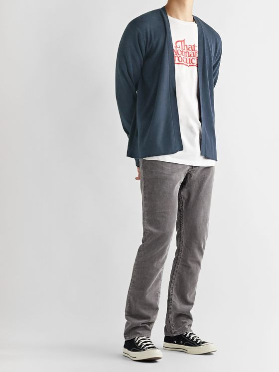nonnative Dweller Slim-Fit Cotton-Blend Corduroy Trousers