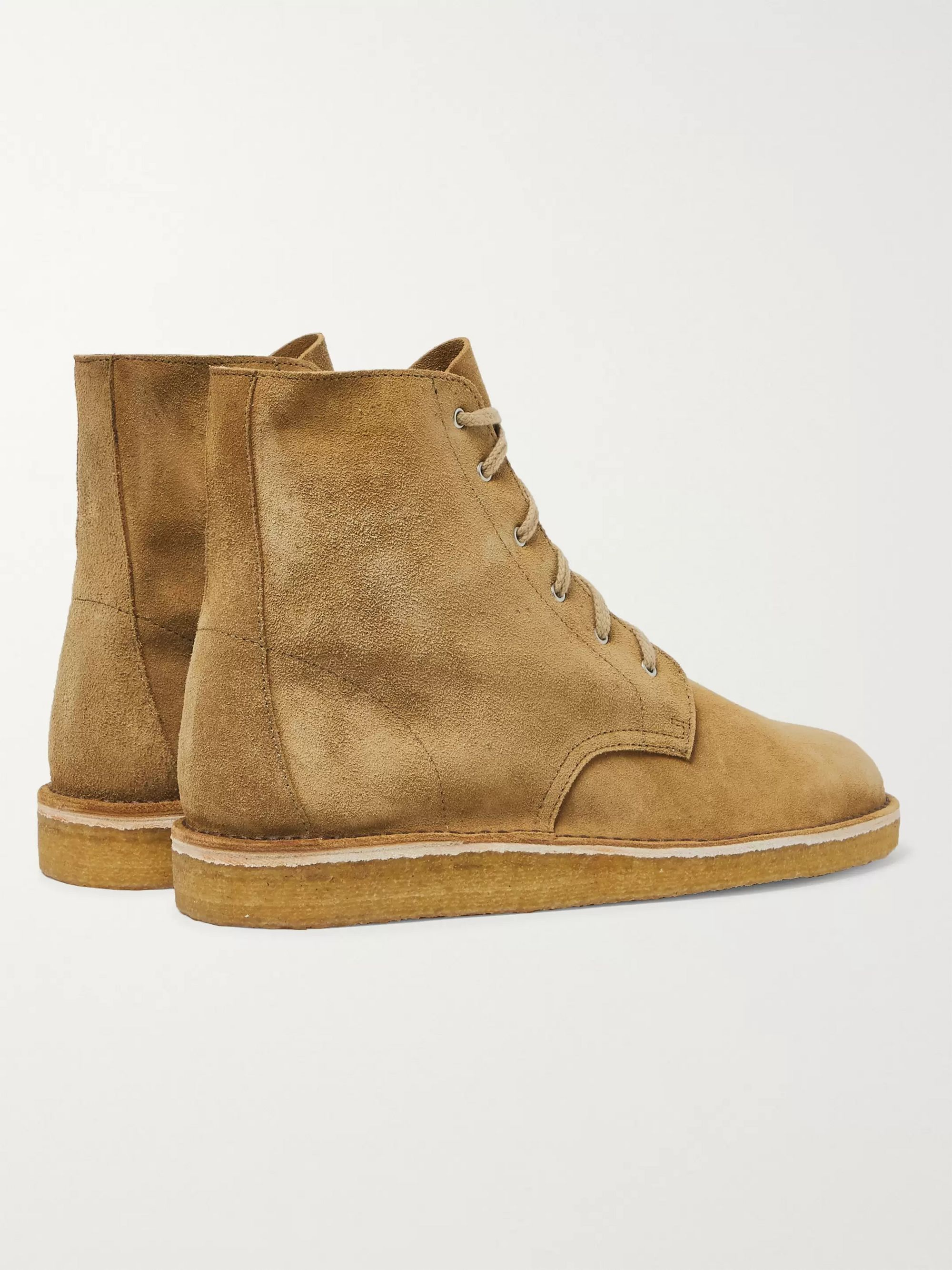 nonnative Officer Suede Desert Boots