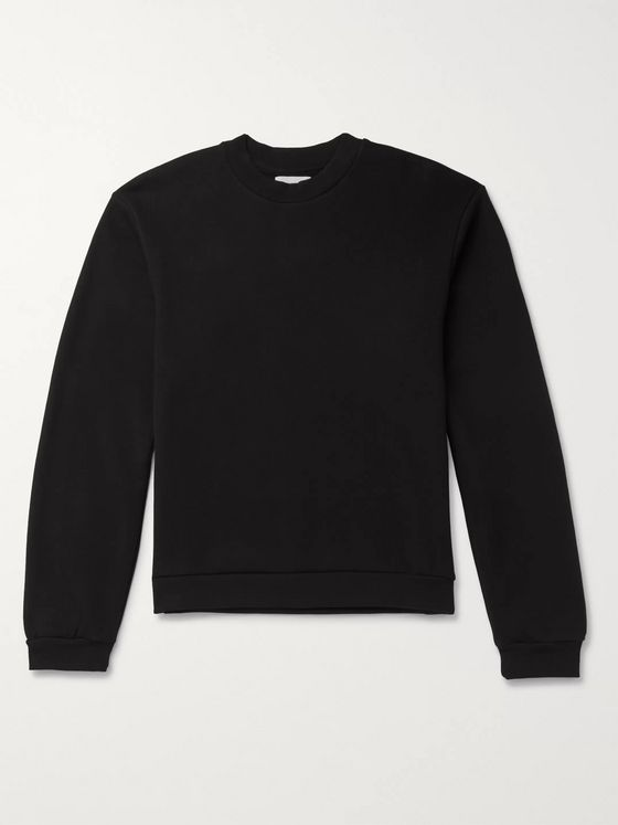 John Elliott Loopback Cotton-Jersey Sweatshirt