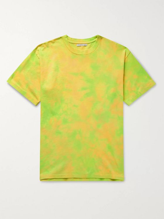 John Elliott Tie-Dyed Cotton-Jersey T-Shirt
