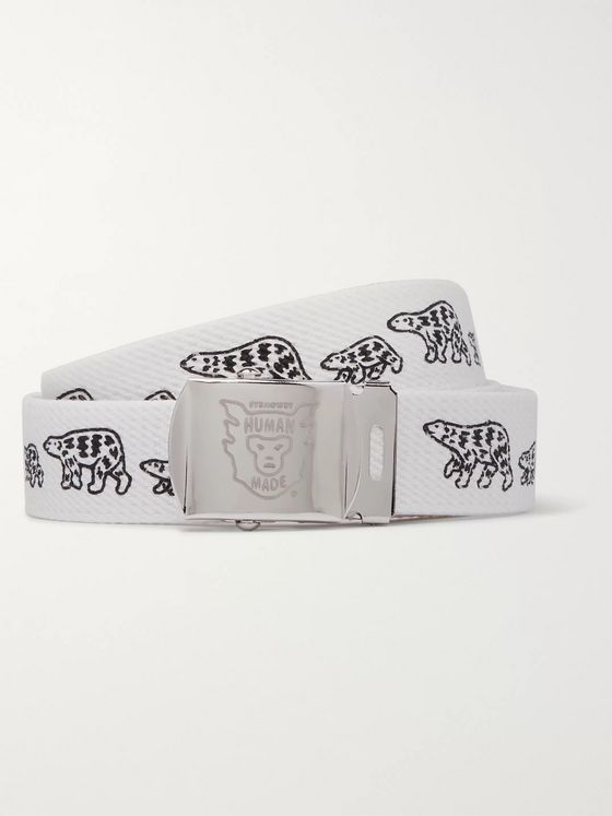 Human Made Printed Webbing Belt