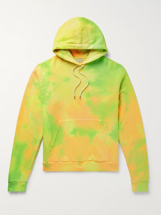 John Elliott Beach Tie-Dyed Loopback Cotton-Jersey Hoodie