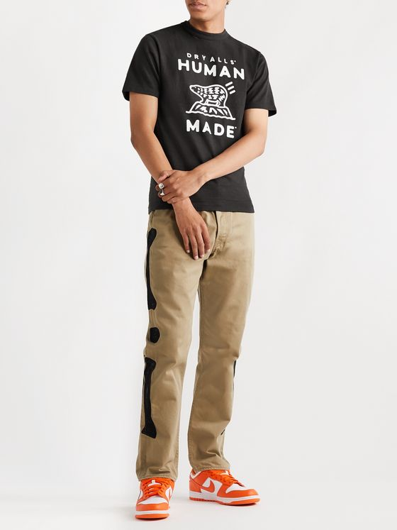 Human Made Slim-Fit Printed Cotton-Jersey T-Shirt