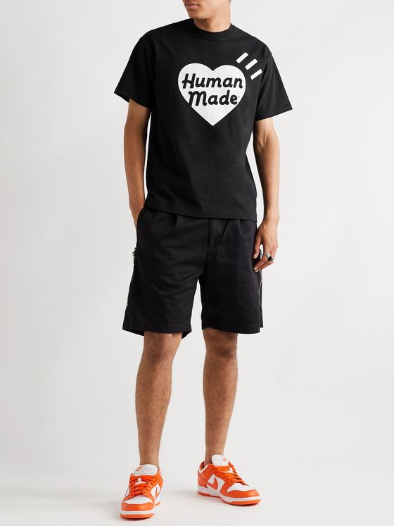 Human Made Slim-Fit Logo-Print Cotton-Jersey T-Shirt