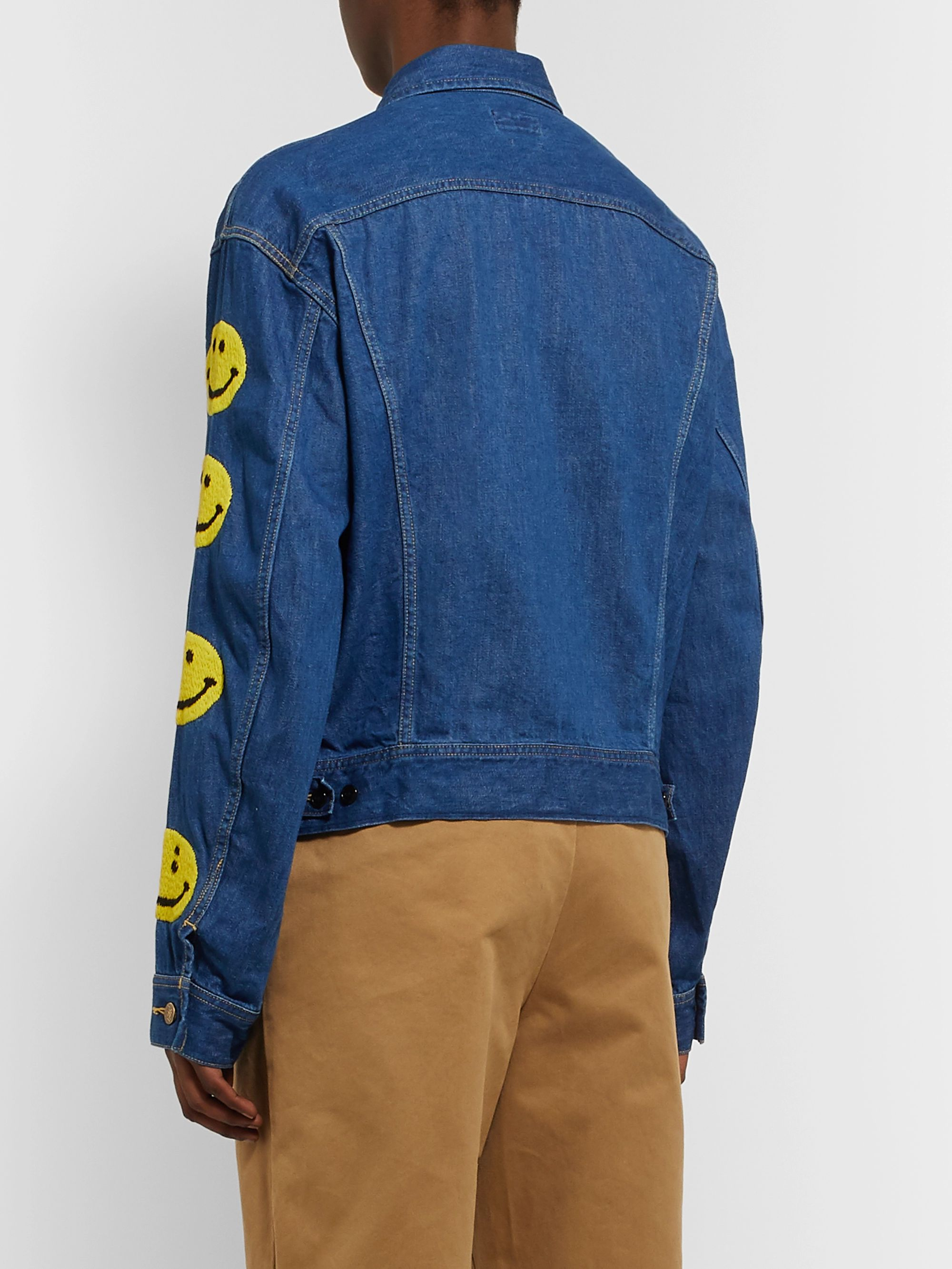 KAPITAL Embroidered Denim Jacket