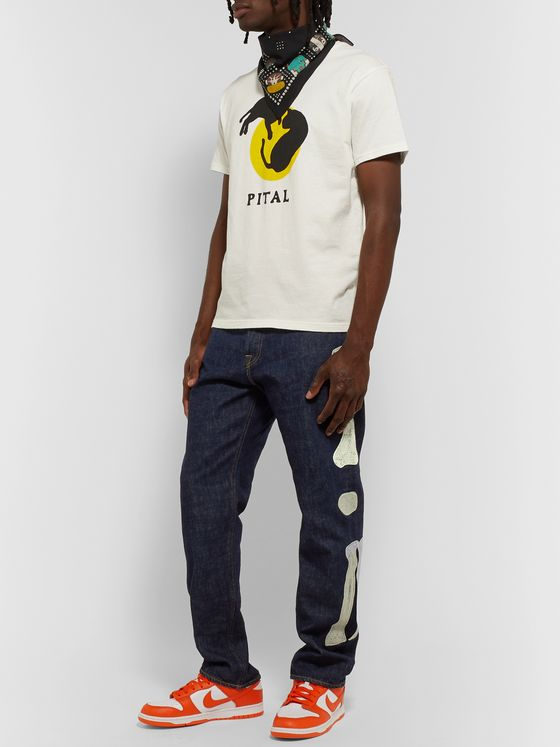 KAPITAL Okagilly Appliquéd Denim Jeans