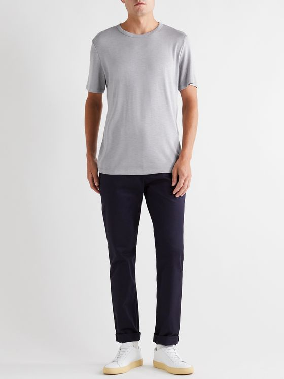 Theory Essential Modal-Blend Jersey T-Shirt