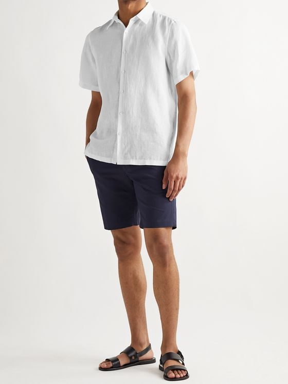 Theory Irving Linen Shirt