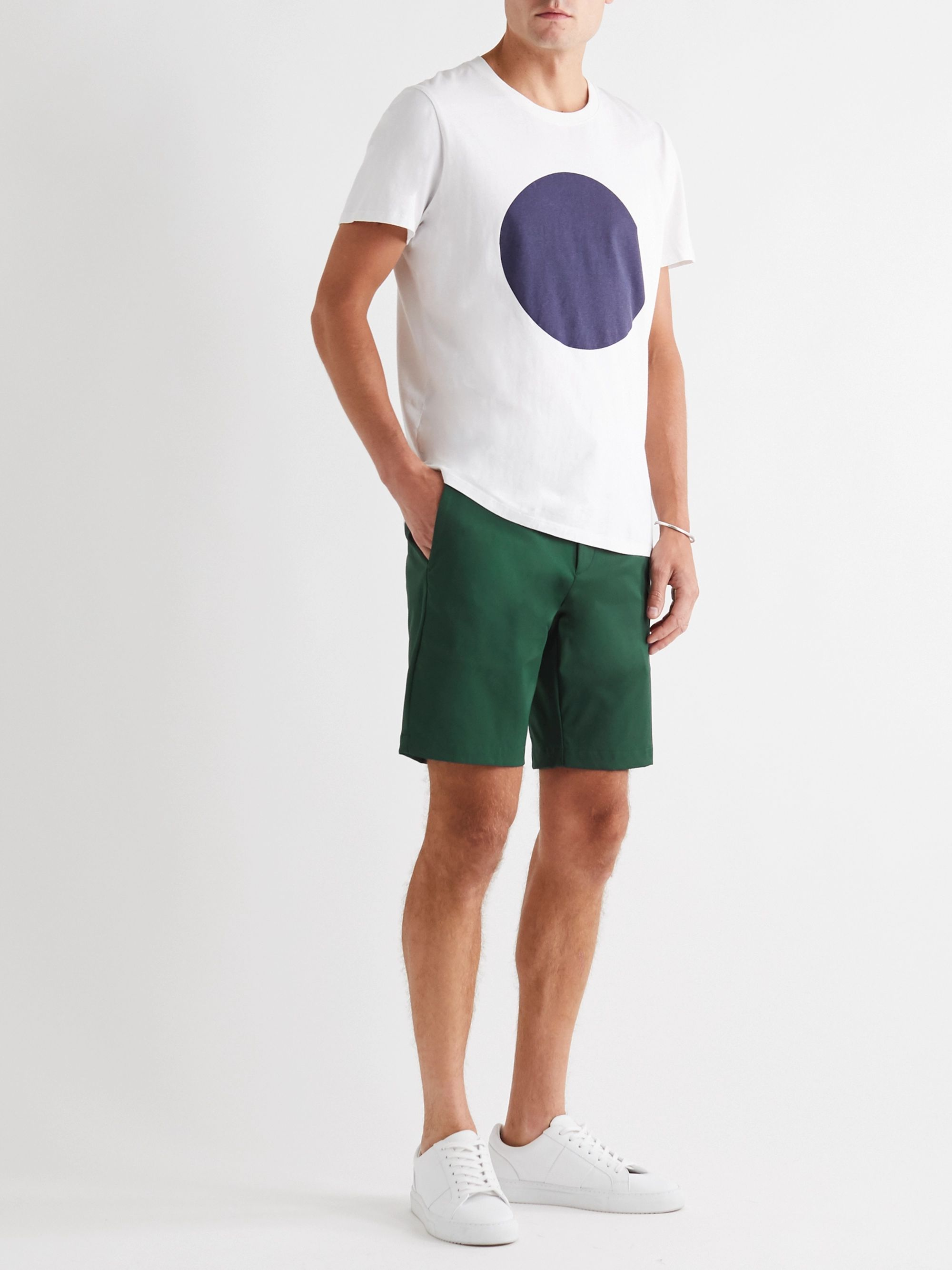 Theory Zaine Twill Chino Shorts
