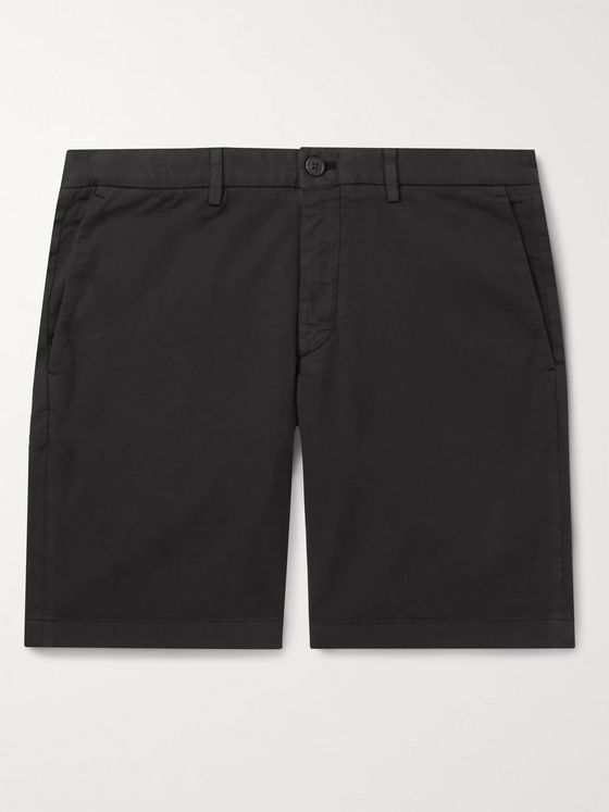Theory Zaine Slim-Fit Cotton-Blend Shorts