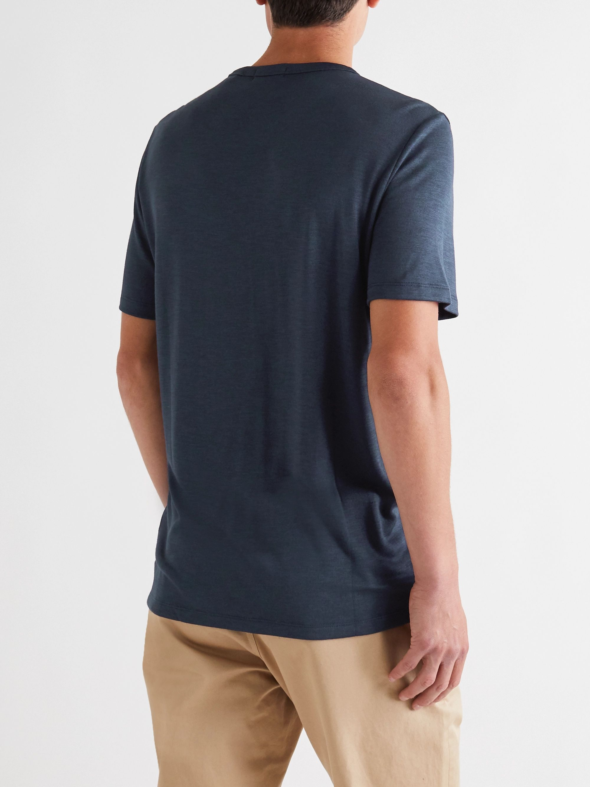 Theory Essentials Modal-Blend Jersey T-Shirt
