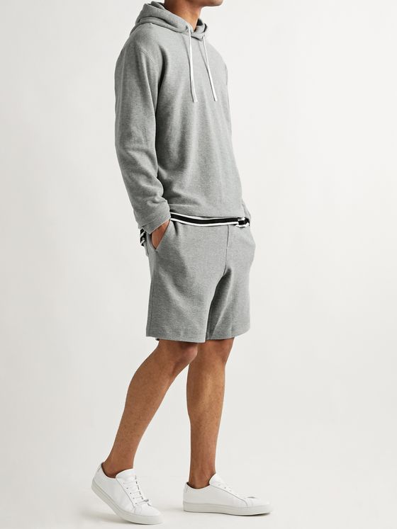 Theory Surf Mélange Cotton-Terry Hoodie