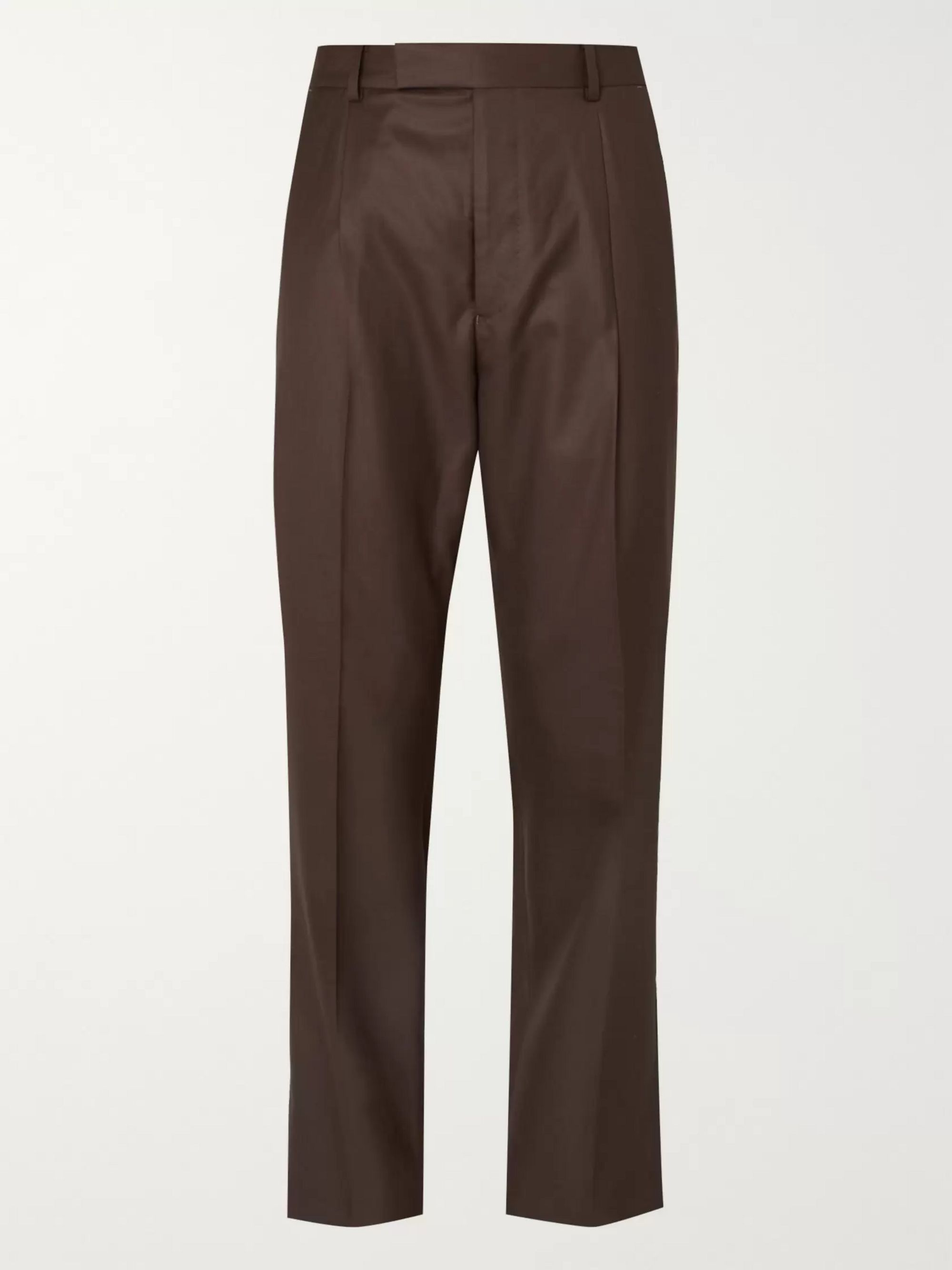 Wacko Maria Pleated Wool Suit Trousers