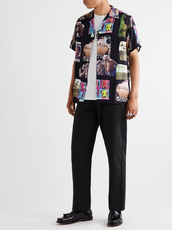 Wacko Maria + Sublime Printed Camp-Collar Woven Shirt