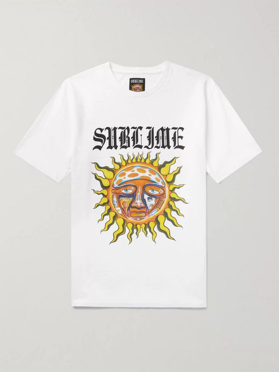 Wacko Maria + Sublime Printed Cotton-Jersey T-Shirt