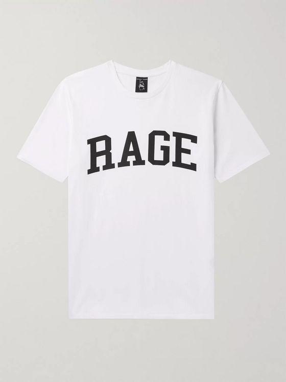 Wacko Maria + Rage Against The Machine Printed Cotton-Jersey T-Shirt
