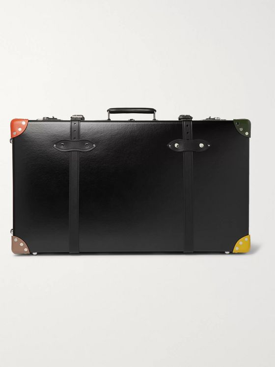 Globe-Trotter + Paul Smith 30'' Leather Trunk