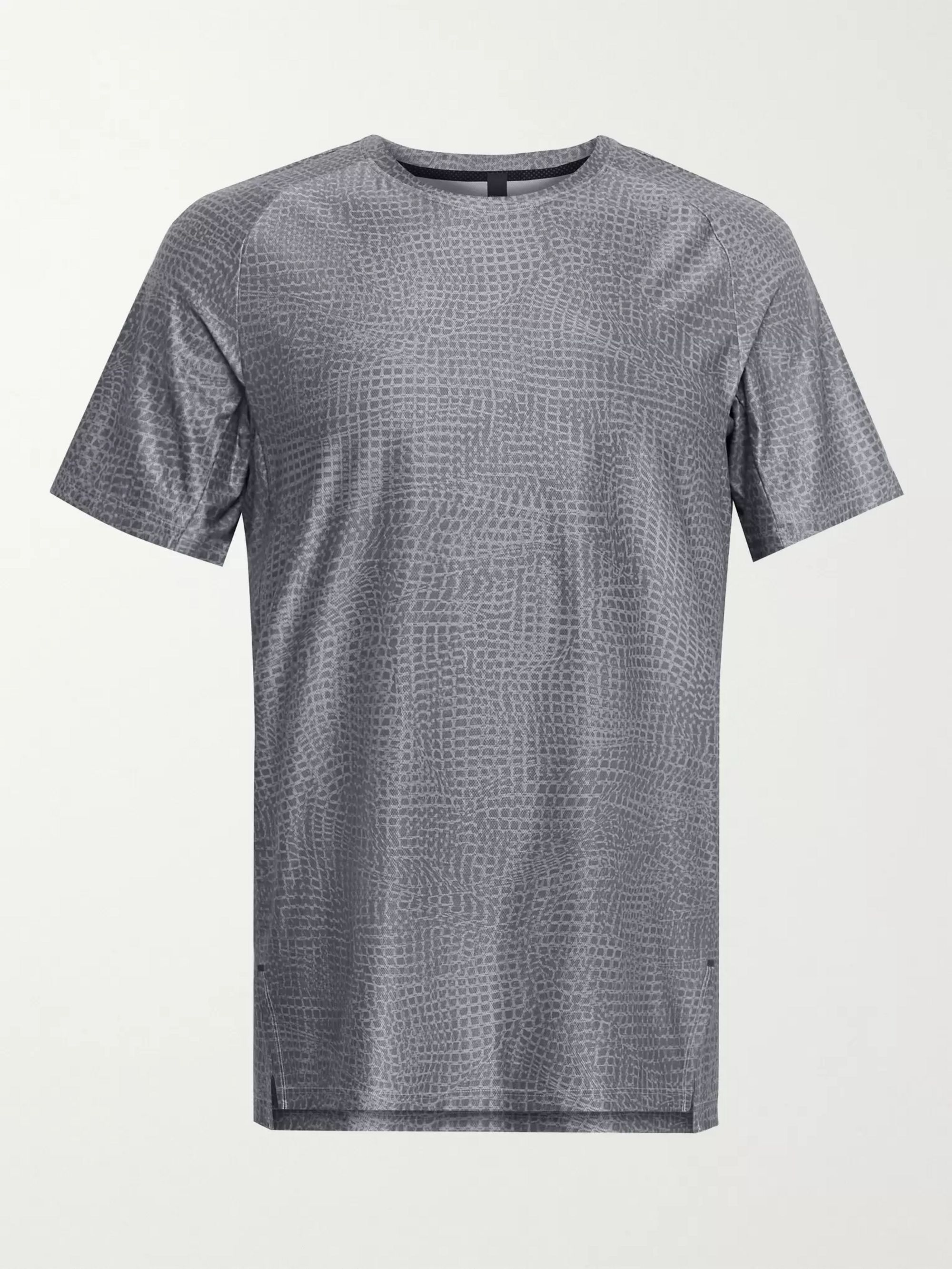 LULULEMON LTT Printed Stretch-Mesh T-Shirt