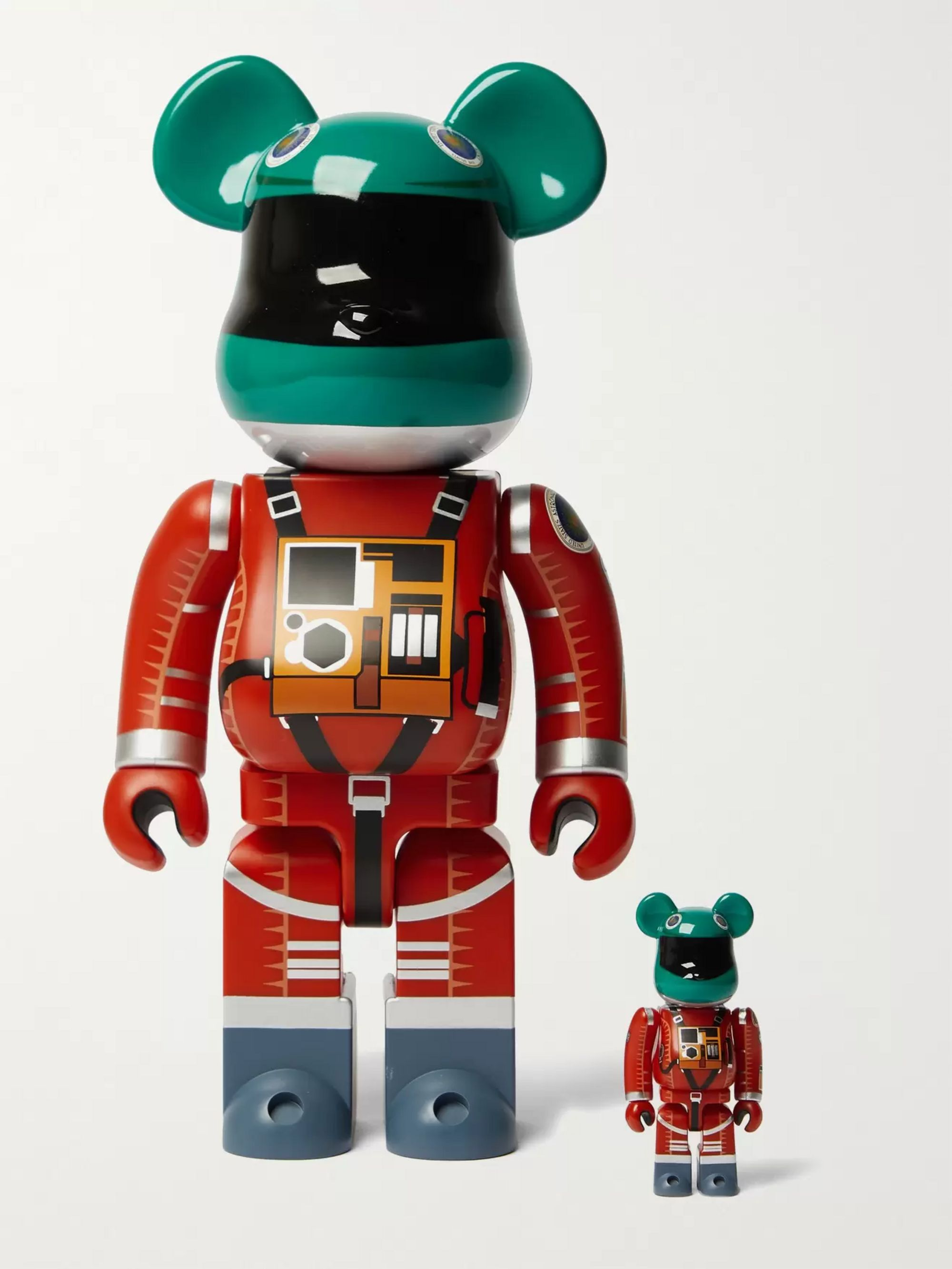 BE@RBRICK 100% + 400% Figurine Set