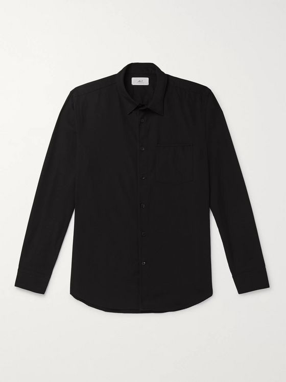 Mr P. Paul Washed-Cotton Shirt