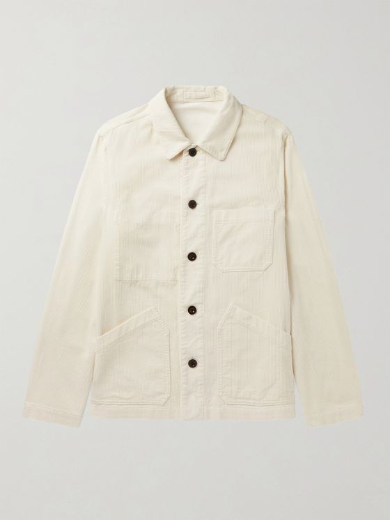 MR P. Cotton-Corduroy Chore Jacket