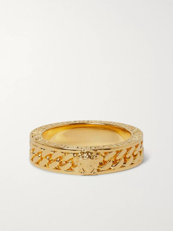 Versace Gold-Tone Ring