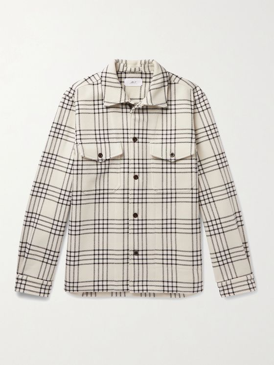 MR P. Checked Flannel Overshirt