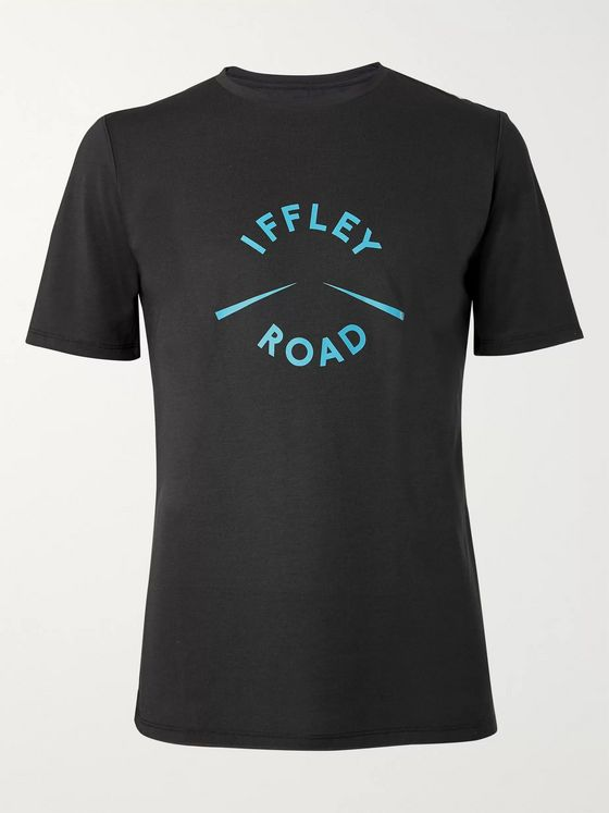 Iffley Road York Logo-Print Drirelease Cotton-Jersey T-Shirt