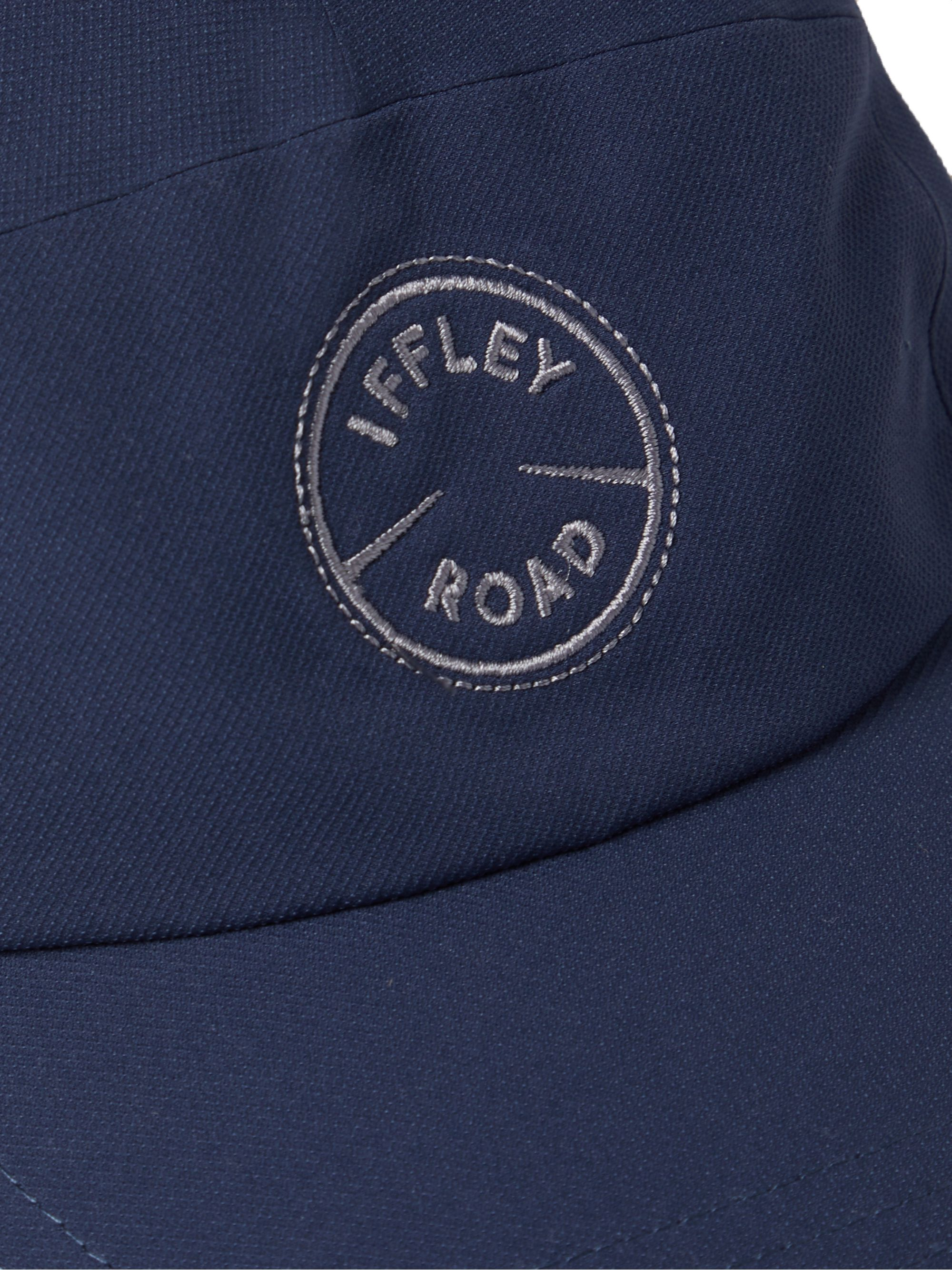 Iffley Road Putney Logo-Embroidered Perforated Shell Running Cap