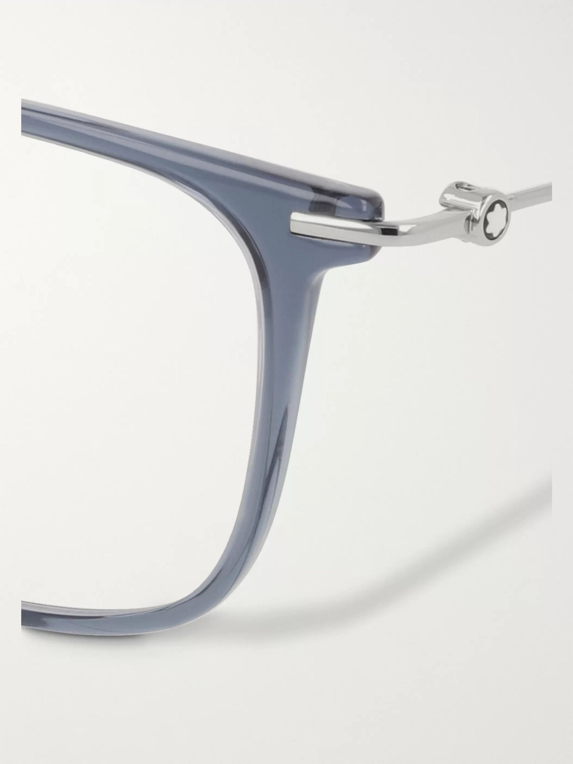 Montblanc D-Frame Acetate Optical Glasses