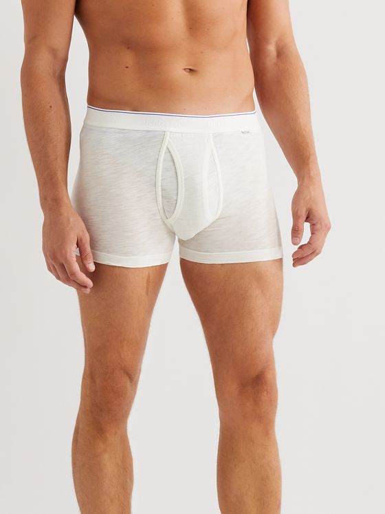 Schiesser Hanno Stretch Cotton-Jersey Boxer Briefs