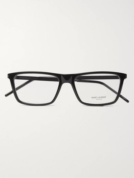 SAINT LAURENT Square-Frame Acetate Optical Glasse
