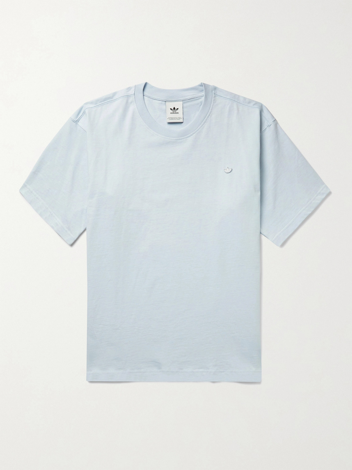 Adidas Originals Cottons ADICOLOR PREMIUM LOGO-APPLIQUÉD ORGANIC COTTON-JERSEY T-SHIRT