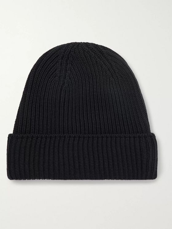 S.N.S. Herning Mental Ribbed Virgin Wool Beanie