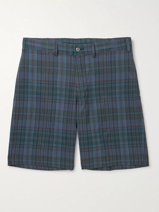 Beams Plus Checked Woven Shorts