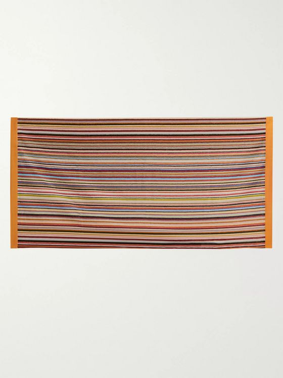 Paul Smith Striped Cotton-Terry Towel