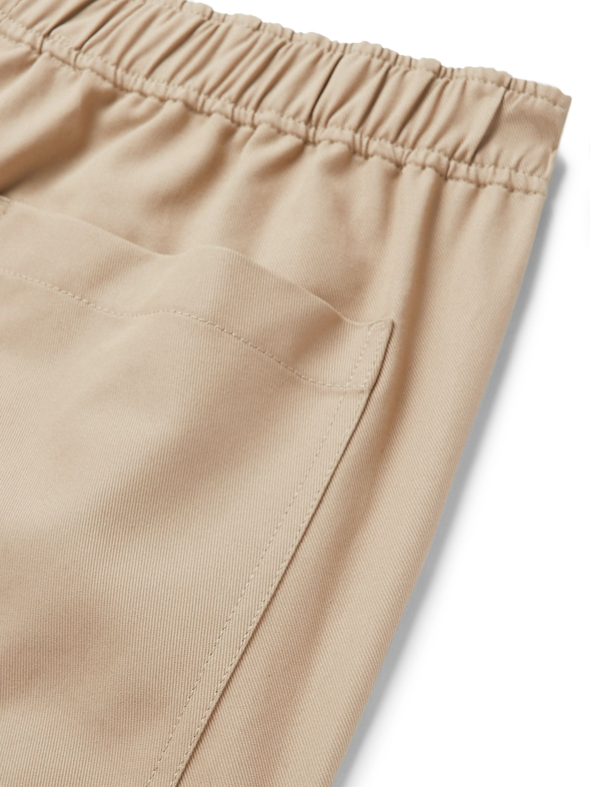AMI Wide-Leg Cotton-Twill Bermuda Shorts