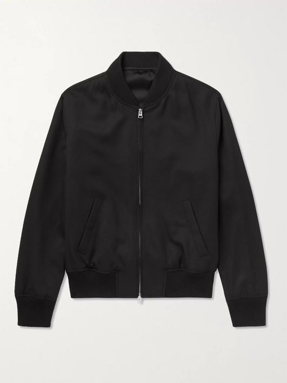 AMI PARIS Twill Bomber Jacket
