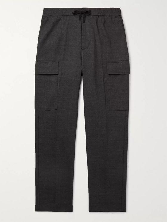 Officine Générale Geron Tapered Wool Cargo Trousers