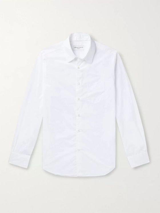 Officine Générale Tristan Slim-Fit Cotton-Poplin Shirt