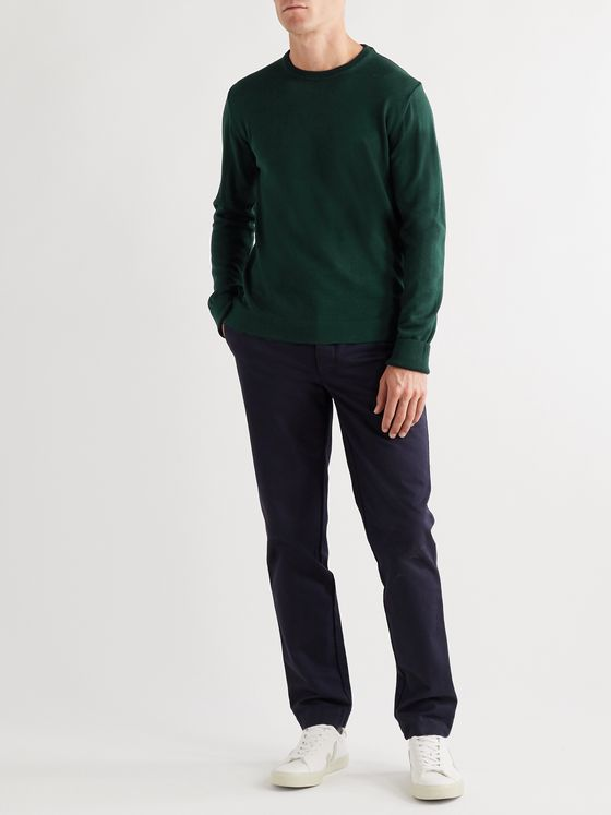 Officine Generale Nina Slim-Fit Virgin Wool Sweater