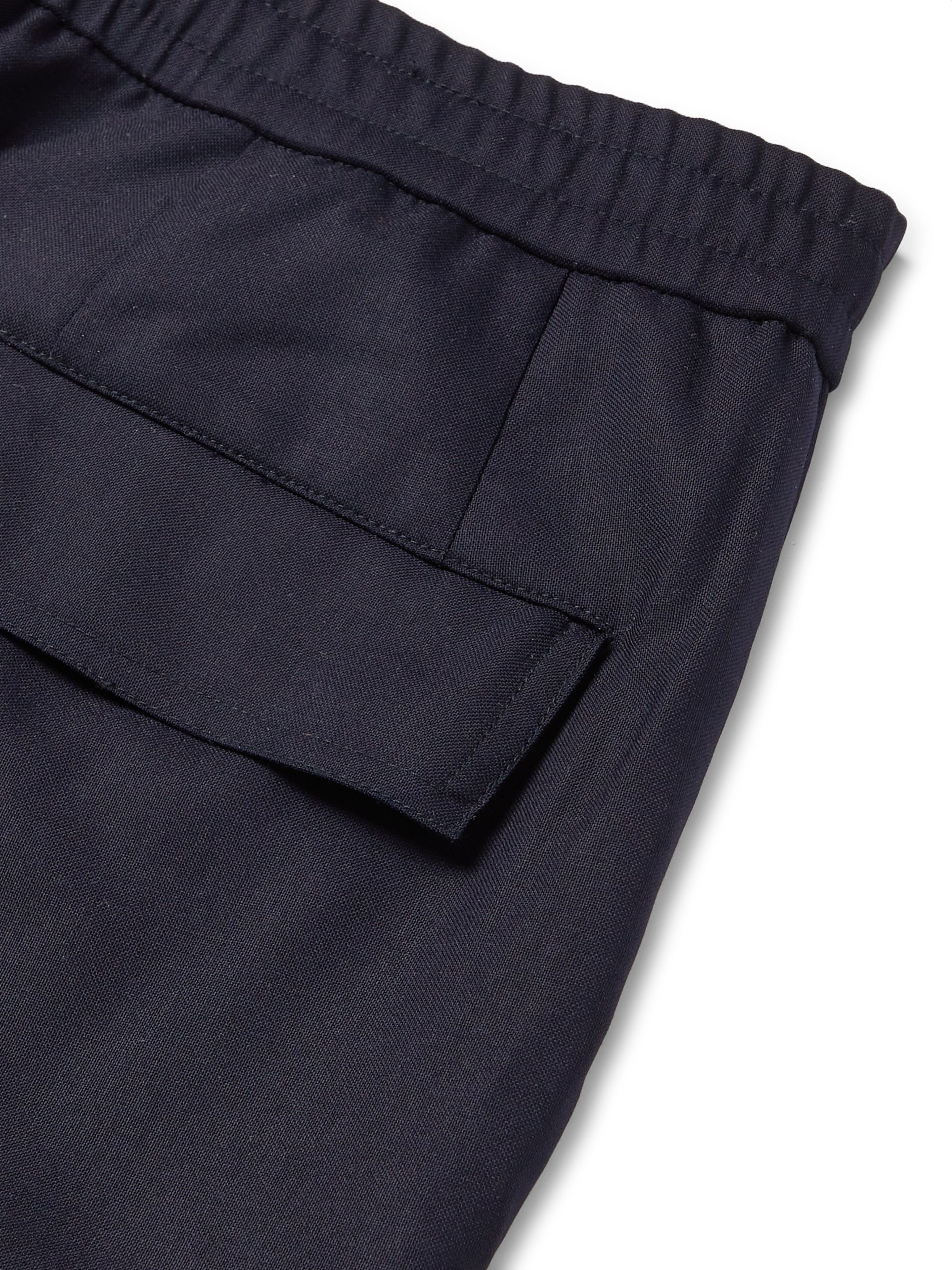 Officine Générale Geron Tapered Wool-Twill Cargo Trousers