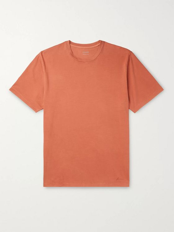 FRAME Perfect Pima Cotton-Jersey T-Shirt