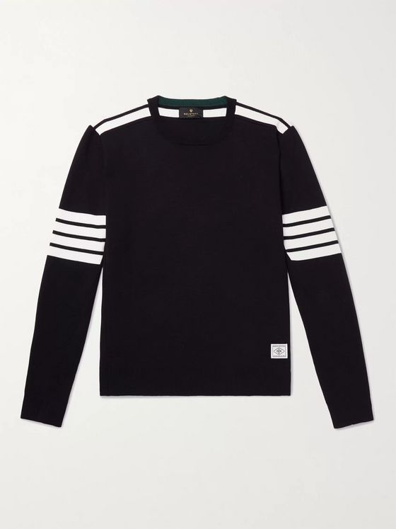 Belstaff Outboard Striped Wool Sweater