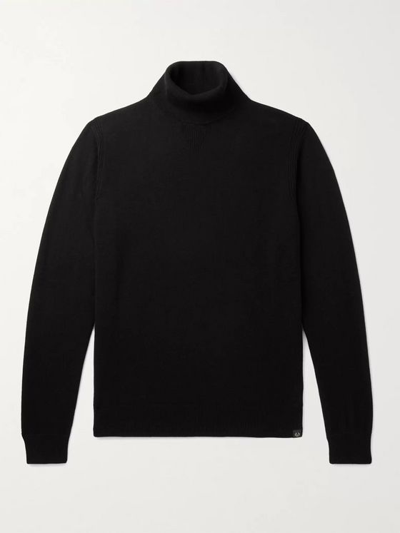 Belstaff Wool and Cashmere-Blend Rollneck Sweater