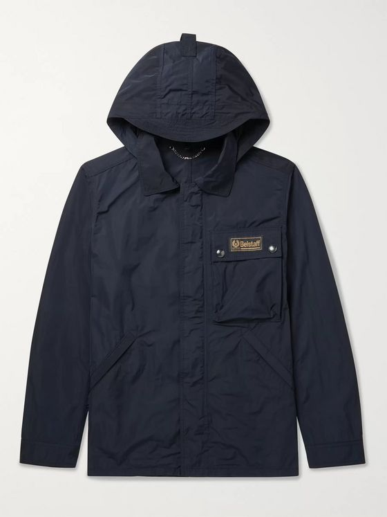 Belstaff Weekender Shell Hooded Jacket